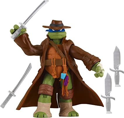 Teenage Mutant Ninja Turtles Monster Hunter Leonardo Basic Action Figure, 5