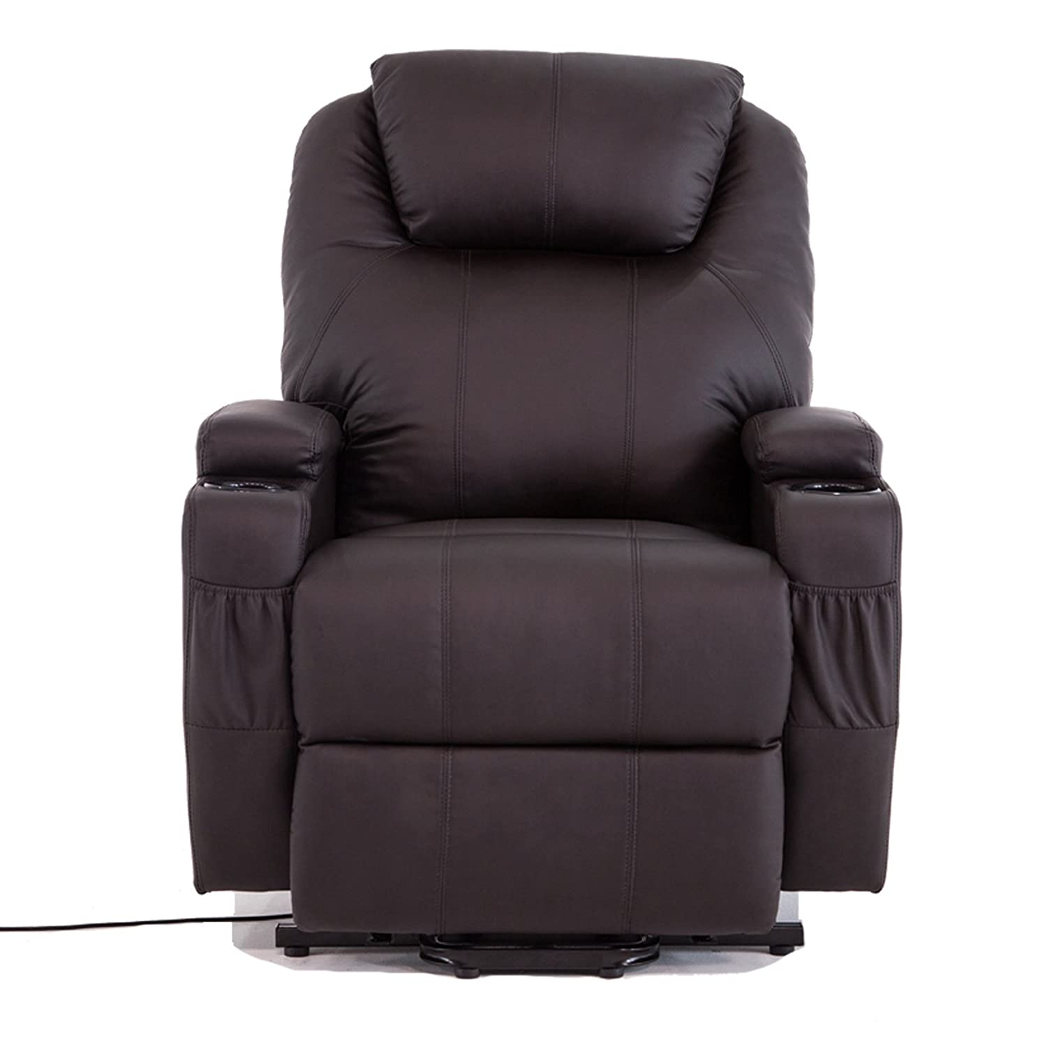 Amazon Electric Real Leather Recliner Chair Lift Chair Wall