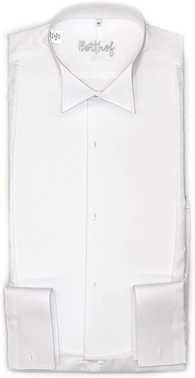 Botthof - Camisa de Vestir - Cuello ópera - para Hombre: Amazon.es: Ropa y accesorios