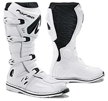 Amazon.com: Forma Terrain EVO Off-Road MX Motorcycle Boots (White ...