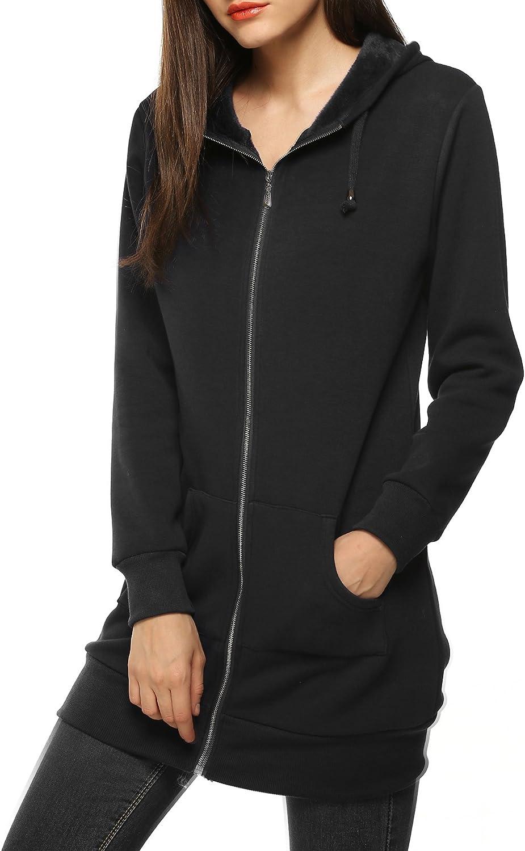 Fashion Mens Womens Long Sleeve Hooded Hoodies Casual Zipper Fleece Sweatshirts