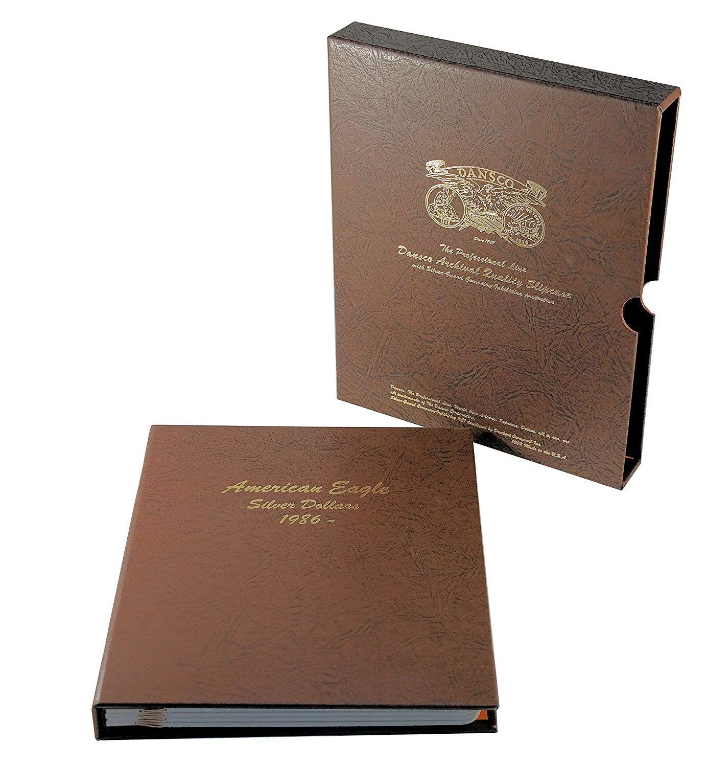 Dansco US American Silver Eagle Coin Album 1986 to Date with Slipcase #7181