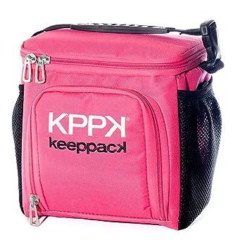 79140b83e Bolsa Termica Keeppack Mid Rosa (Rosa): Amazon.com.br: Cozinha
