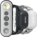 PATPET Dog Training Collar with Remote, 3000FT Rechargeable IPX7 Waterproof Dog