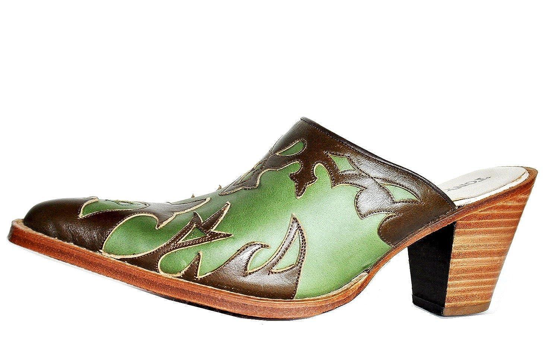bcfc7b8bbba Tony Mora Women's Cowboy Boots Green Size: 4: Amazon.co.uk: Shoes & Bags