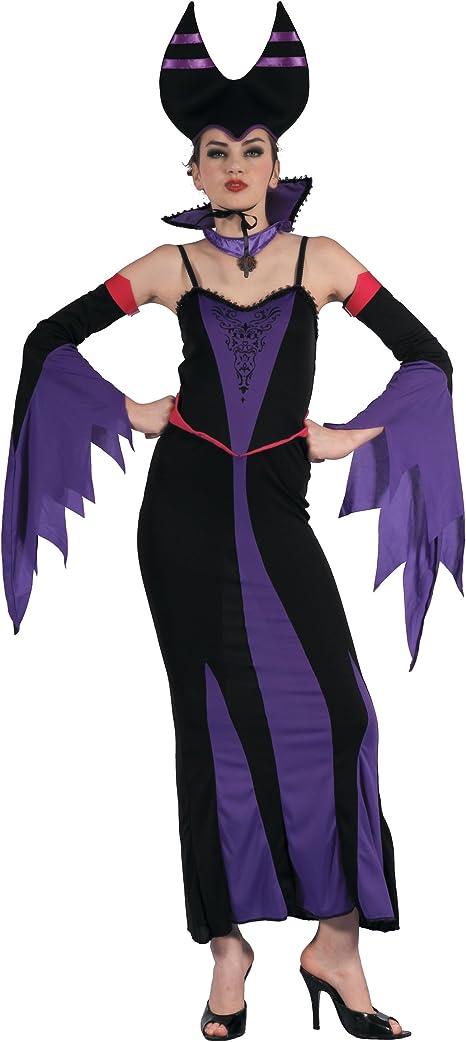 Generique - Disfraz de maléfica Violeta Mujer S: Amazon.es ...