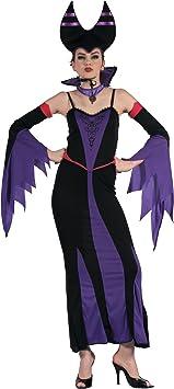 Generique - Disfraz de maléfica Violeta Mujer S: Amazon.es: Juguetes y juegos