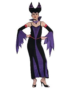 Generique - Disfraz de maléfica Violeta Mujer M: Amazon.es ...