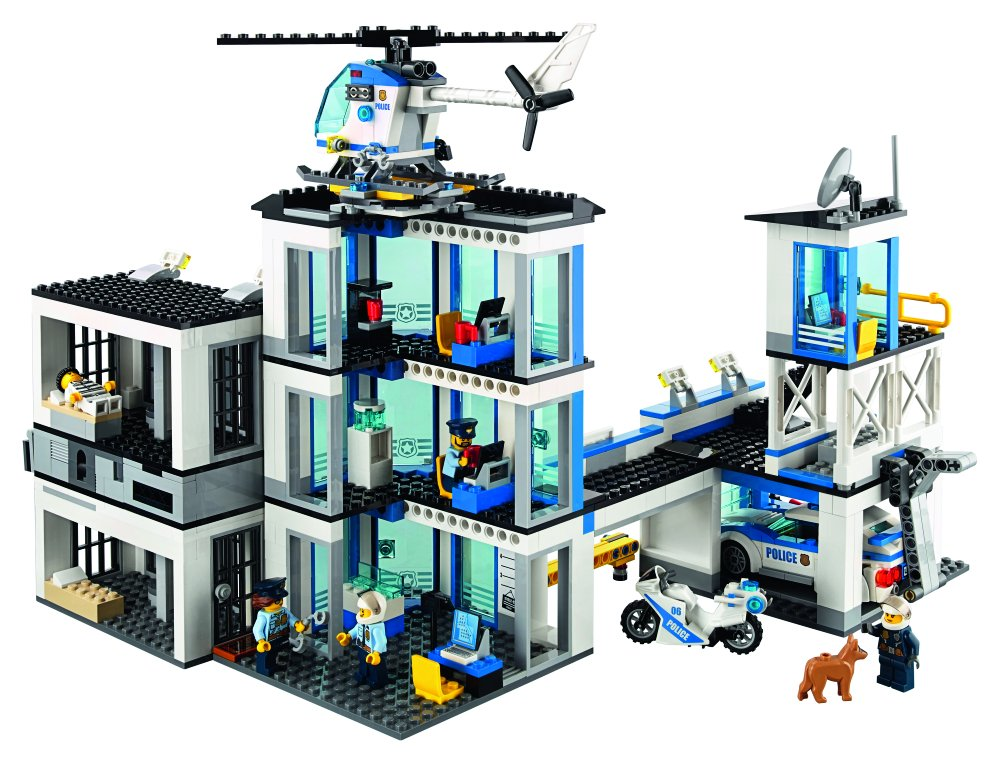 Amazon Lego City Police Station 60141 Building Kit With Cop Car