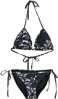 Jeu Très Pas Cher Nouveaux Prix Plus Bas Gothicana by EMP Rockaway Beach Bikini Noir 57lBIxps0y