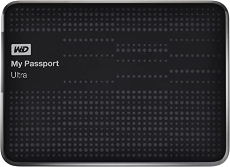 WD My Passport Ultra - Disco Duro Externo de 1,5 TB (2.5