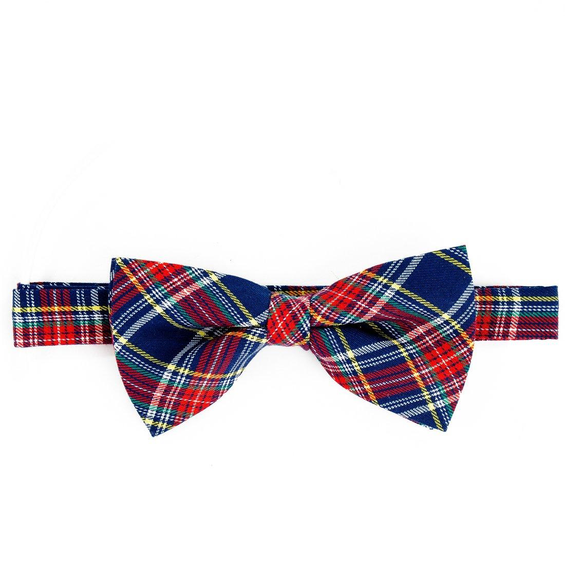 Croota Mens Pre-Tied Tuxedo Adjustable Color Neck Bow Tie