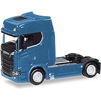 Herpa-Scania CS V8 HD Zugmaschine, enzianblau LKW Zum