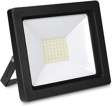 kwmobile Foco proyector LED de exteriores de 50W - Reflector con ...