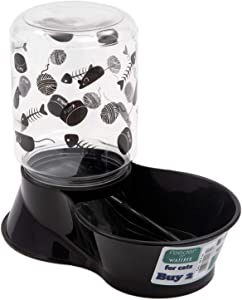 Lixit Animal Care Cat Feeder/Fountain Reversible Base,