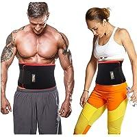 TAWFIT Fascia Addominale Dimagrante Uomo e Donna Regolabile Cintura Snellente Brucia Grassi Aumenta Sudorazione e Promuove la Perdita di Peso