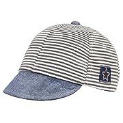 JINTN Kids Baby Classic Stripe Hat Baseball Cap Toddler Infants Pure Cotton Hat Summer Hat For Newborns