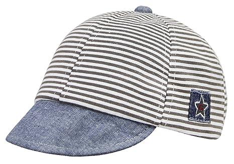 Kids Baby cappello classico da baseball a strisce per bambini ... a5a8baf82eca