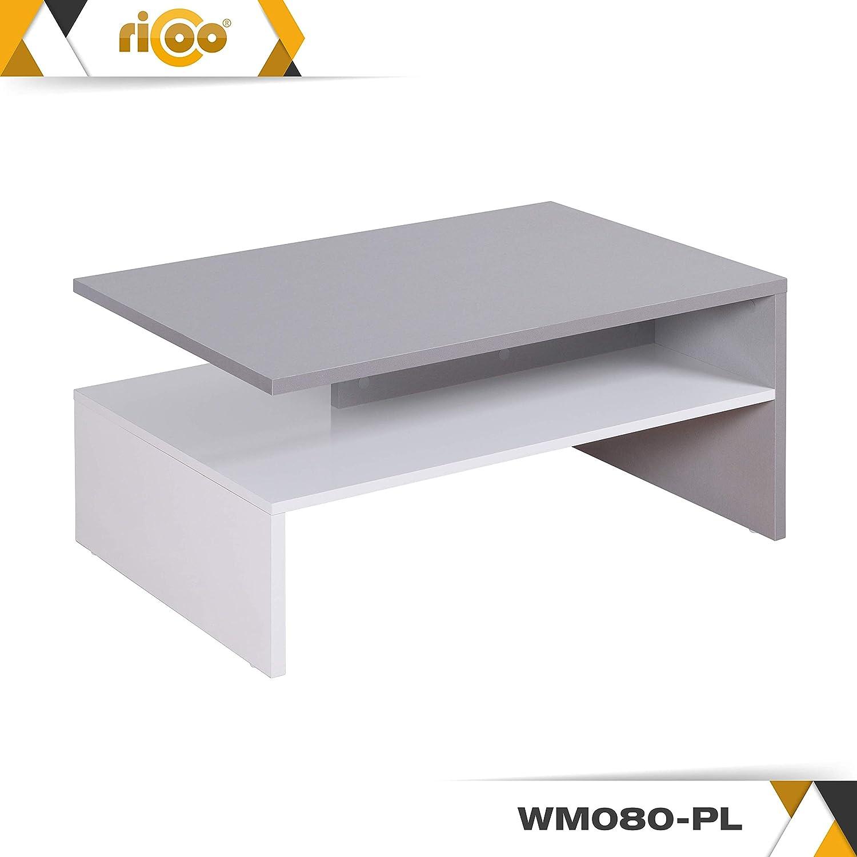 Salon Ricoo Table Basse Carrée Design Pour Salle De Séjour