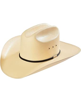 504d9d91a76 Resistol Men s George Strait Rides Away Straw Cowboy Hat Natural 7 at Amazon  Men s Clothing store