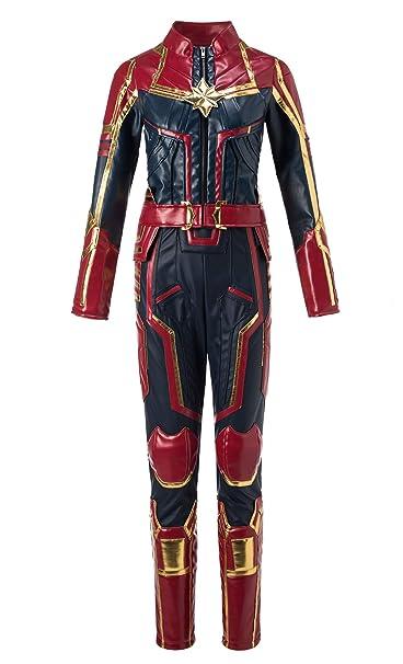 Amazon.com: Disfraz de Capitán Marvel, traje de Miss Marvel ...