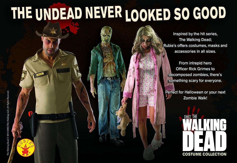 sc 1 st  Amazon.com & Amazon.com: The Walking Dead Rick Grimes Adult Costume: Clothing