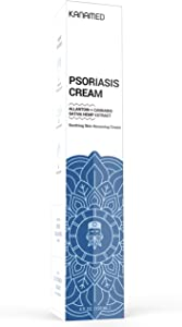 Kanamed   Psoriasis Cream Extra Strength with Hemp & Honey Extract   Eczema Cream for Adults & Baby Eczema Lotion   Rosacea Skin Care Products, Dermatitis Cream, Psoriasis Treatment   4 oz (120 ml)