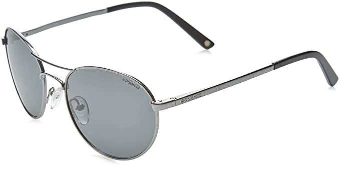 Polaroid Sonnenbrille P9305 (53 mm) metallic/schwarz 1FOP5U