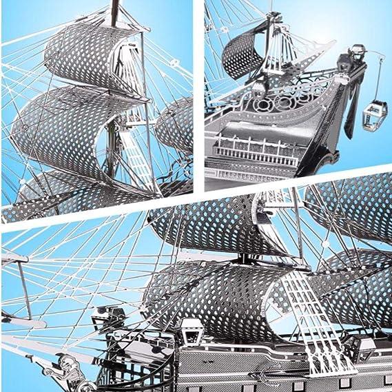 MQKZ DIY Metal Puzzle Modelo ensamblado / Reina Anne ...