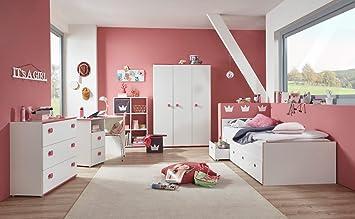 Jugendzimmer komplett weiß  Jugendzimmer, komplett-set, Mädchen, Jugendzimmermöbel, Kinderzimmer ...
