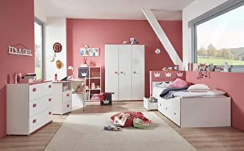 Gut Jugendzimmer, Komplett Set, Mädchen, Jugendzimmermöbel, Kinderzimmer,  Kindermöbel, Kleiderschrank,