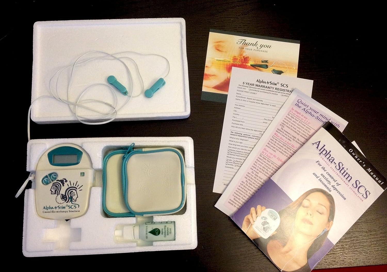 Alpha Stim Alphastim Scs Product Health Personal Care Cranial Electrotherapy Stimulator
