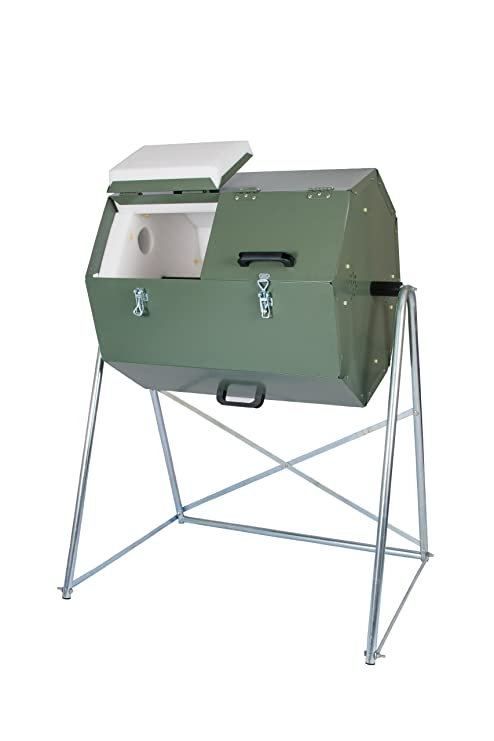 Amazon.com: Jora 33 Galón 125 Compost Tumbler: Home & Kitchen