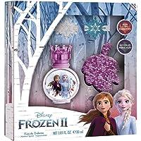 Air-Val Frozen 2 For Children - Eau De Toilette, 30 ml + Hair Clips + Keyring + Stickers Set