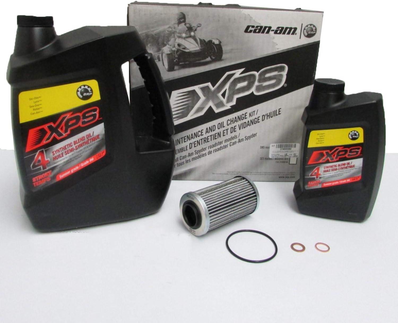 SM5 998 2008-2009//SPYDER RS SE5 998//SPYDER RS SM5 998 2009-2012 Road Passion Filtre /à Huile pour CAN-AM SPYDER GS