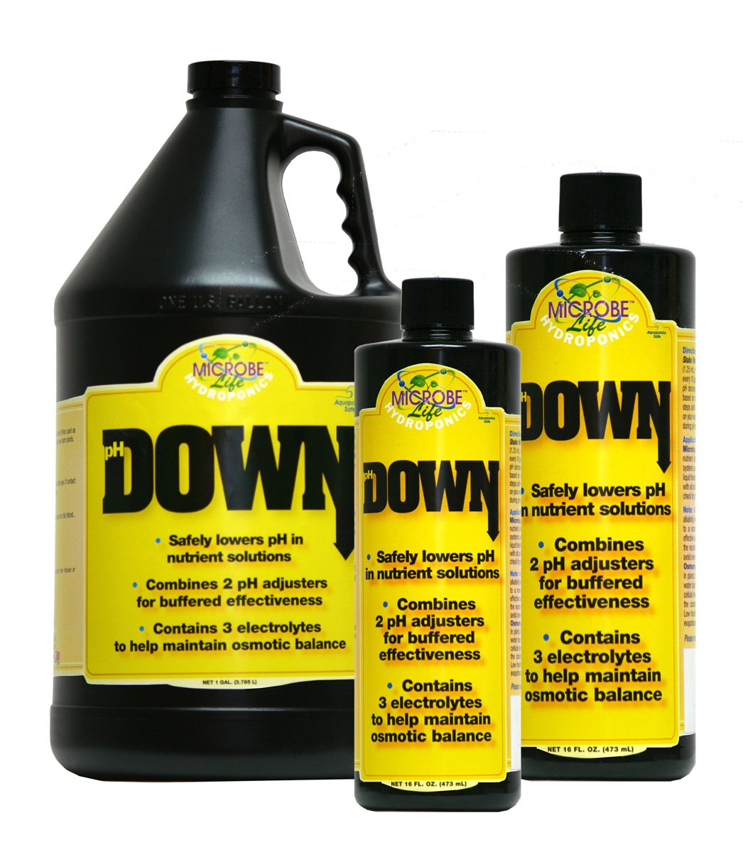 MICROBE Life Hydroponics pH Down Gallon by Microbe Life Hydroponics (Image #1)