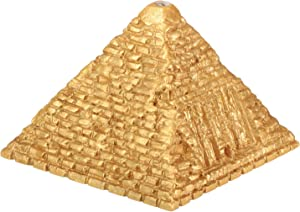 YTC Summit Egyptian Small Lighted Pyramid - Egypt Figurine Statue Model Sculpture, Multi Color