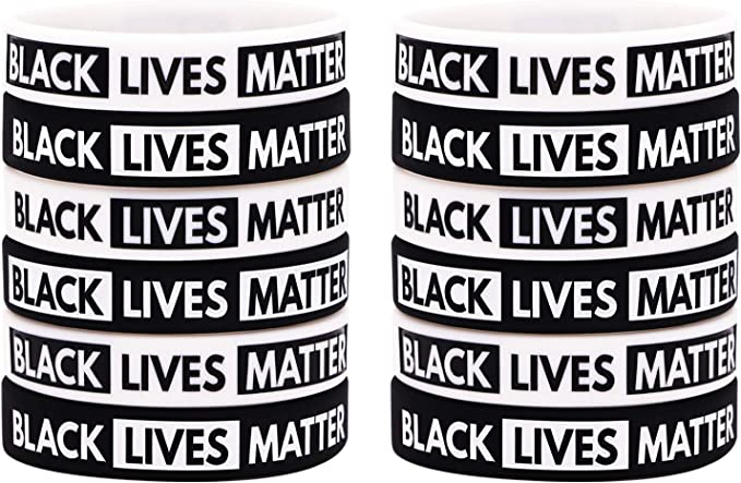 BLACK LIVES MATTER Bracelets 3 Piece Set