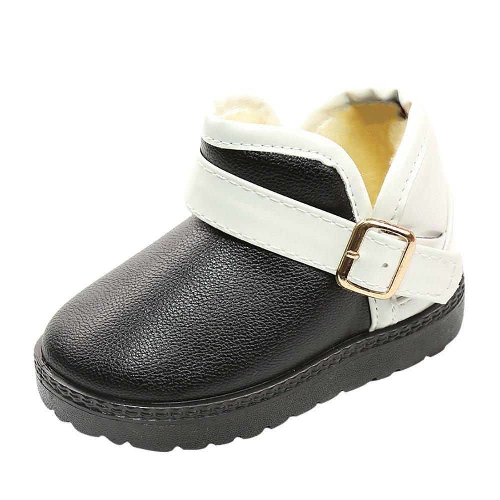 ❤️ Botas de Nieve para niña, Zapatos para niños pequeños niños bebés Colores Mezclados niños niñas Zapatos de Invierno Martin Botas para la Nieve Absolute