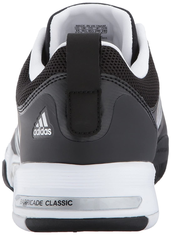 the best attitude c8ad9 bd8f6 Amazon.com  adidas Barricade Classic Wide 4E Tennis Shoe  Fashion Sneakers