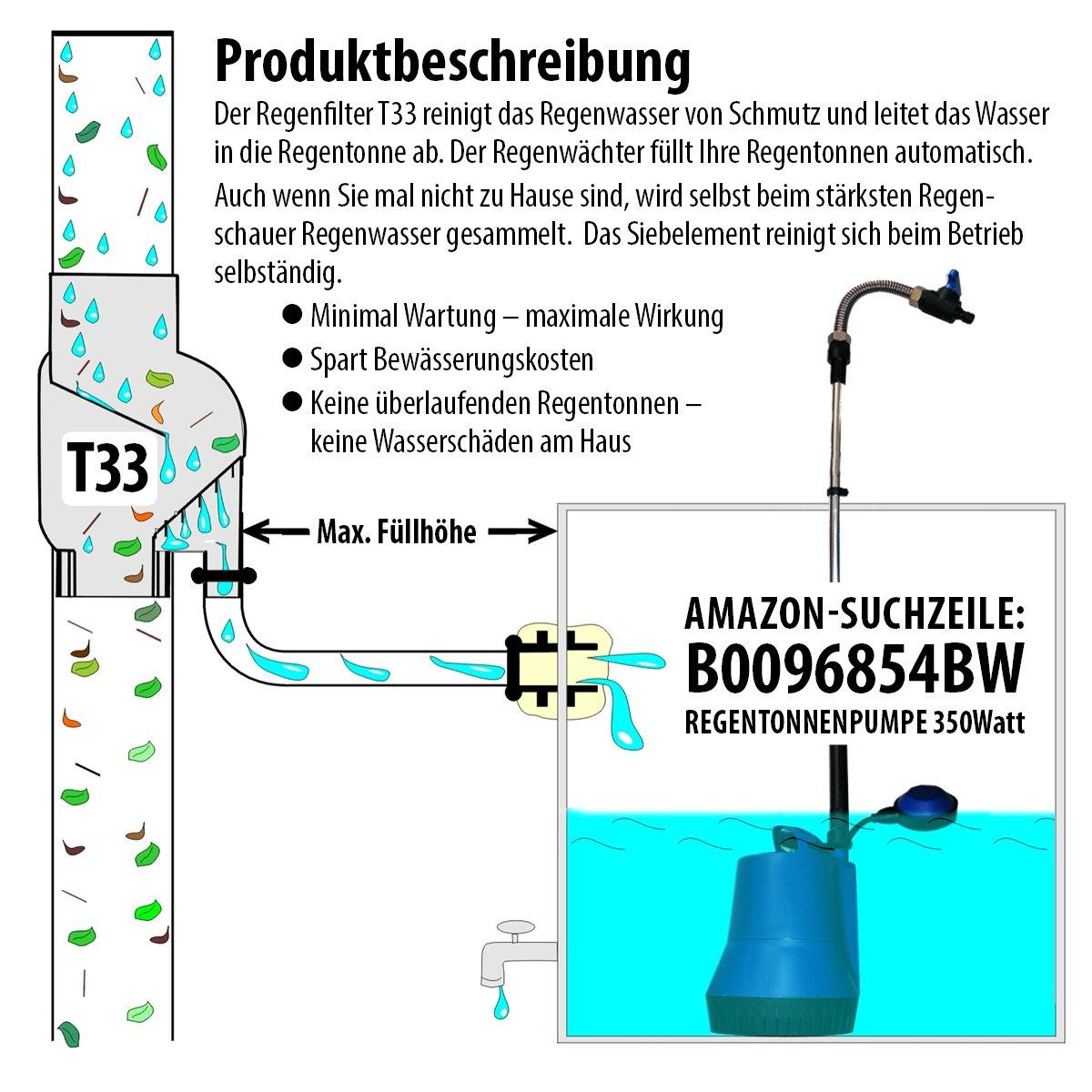Relativ REGENTONNE EICHENFASS 120 Liter REGENFASS Wasserfass  IT06