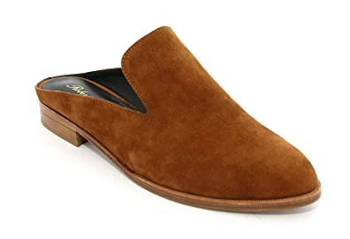 244d3df9fd1be Image Unavailable. Image not available for. Color: Robert Clergerie Brown  Suede Mules 36.5