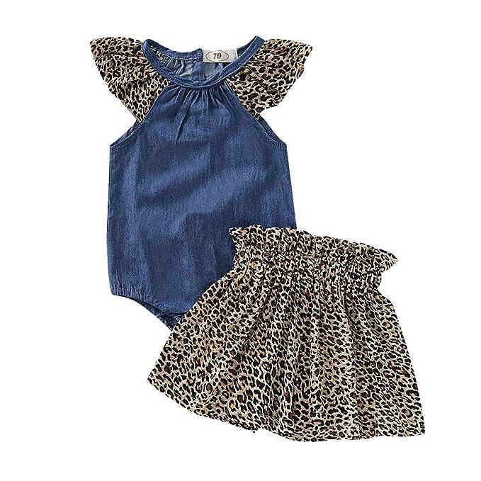 Amazon.com: HANANEI - Conjunto de 2 faldas de estampado de ...