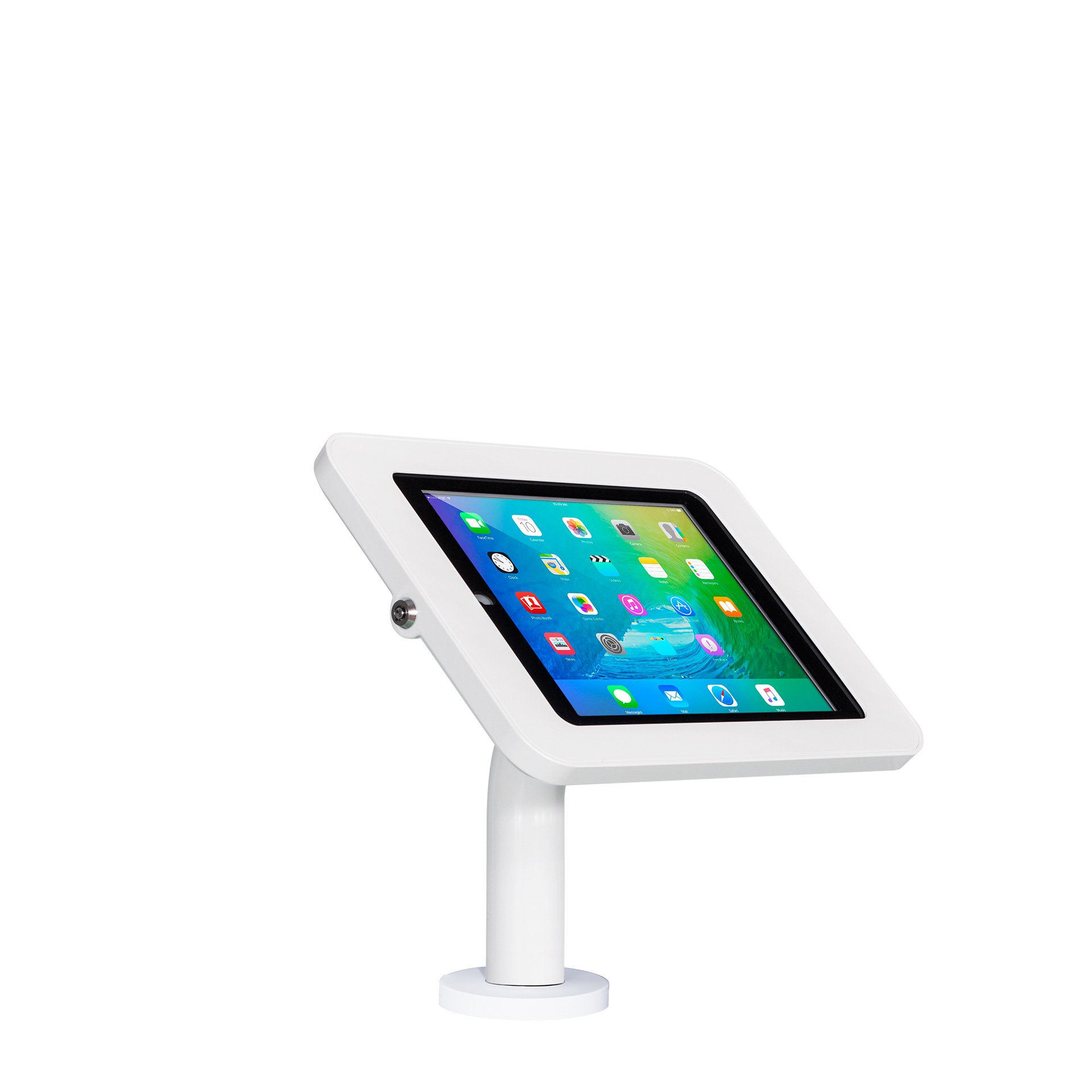 The Joy Factory Elevate II Wall/Countertop Retail Kiosk for iPad Pro 9.7'' and iPad Air 2 (KAA203W)