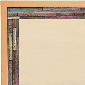 Fun Express - Reclaimed Wood Bb Border - Educational - Classroom Decorations - Bulletin Board Decor - 12 Pieces