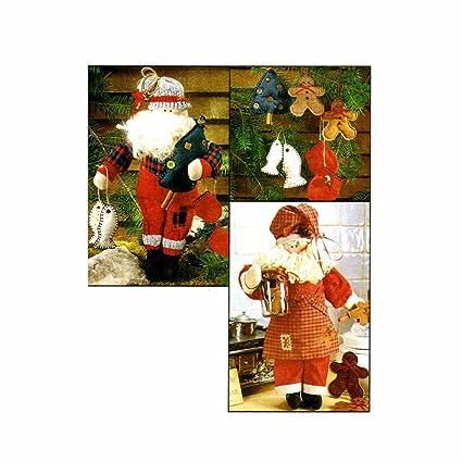 Amazon Cookbook Santa And Campfire Santa With Ornaments