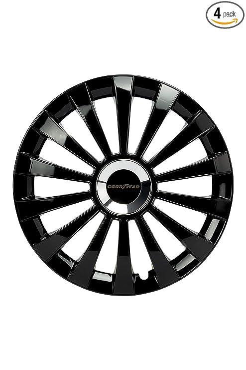 Amazon.com: Good Year GOD9033 - Set of 4 Universal Hubcap ...