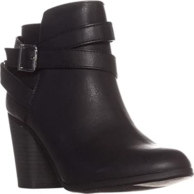 4ccf24edd9 Amazon.com | Material Girl Womens Lexia Solid Ankle Booties | Shoes