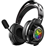 ONIKUMA Gaming Headset-M190 pro- PS4 Headset Xbox one Headset Gaming Headphone with Surround Sound, LED Light & Noise…
