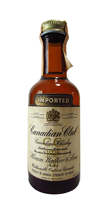 Canadian Club - Canadian Miniature (Old Bottling) - Whisky